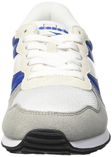 Diadora Camaro, Pompes à Plateforme Plate Mixte Adulte Bleu (Blu Nautico/grigio Pioggia)