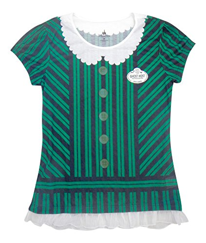 [Disney Parks The Haunted Mansion Host Costume Tee for Women (Adult) (X-Large)] (Disneyland Haunted Mansion Costume)