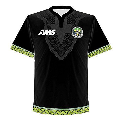 開発する持続的感謝している2017-2018 Zanzibar Home Football Shirt