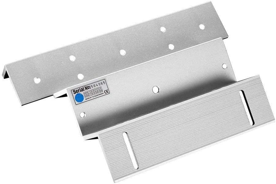 Zl Mounting Bracket Clamp Lz Stents For 500kg 1200lbs Magnetic Lock Inward Door Home Improvement
