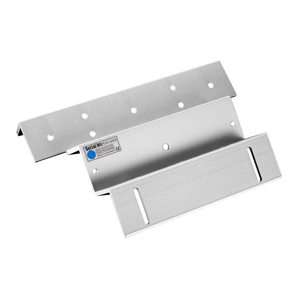 UHPPOTE ZL Mounting Bracket Clamp LZ Stents For 500KG 1200Lbs Magnetic Lock Inward Door