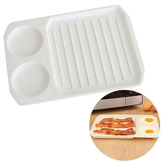 Zanvjkong Pancetta Bandeja Huevo Bacon Egg Cooker Bacon Utensilios ...