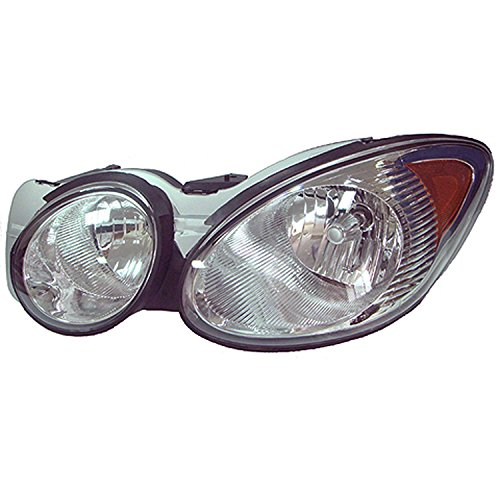 CPP Left Driver Side Headlight Head Lamp for 2008-2009 Buick Allure, LaCrosse