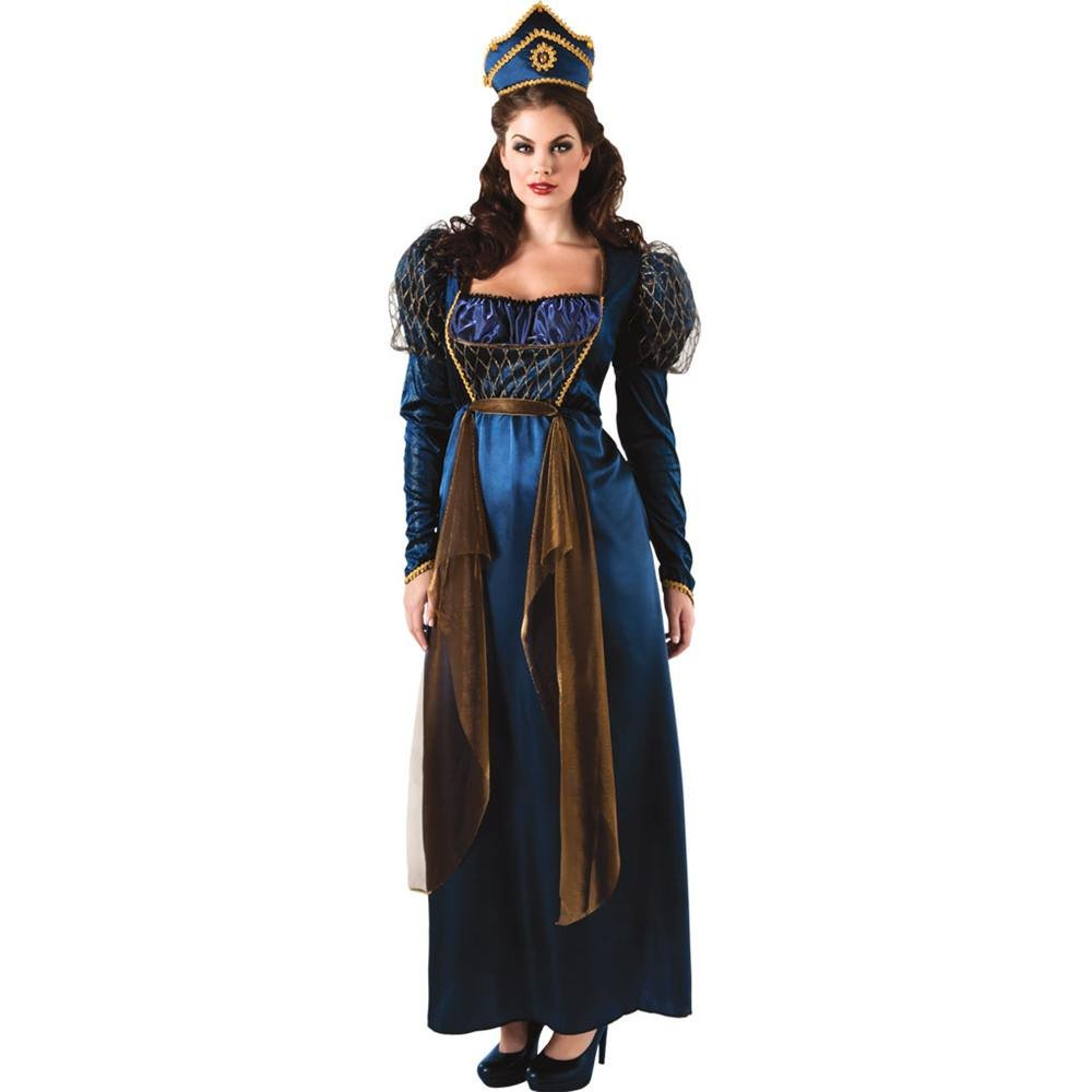 54141cb87b9 Amazon.com  Rubie s Costume Co Women s Plus Renaissance Queen Costume   Clothing
