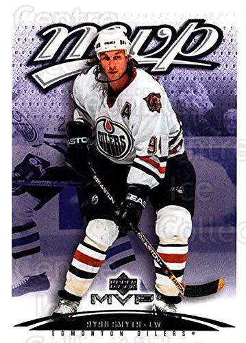 Ryan Smyth Hockey - (CI) Ryan Smyth Hockey Card 2003-04 Upper Deck MVP (base) 160 Ryan Smyth