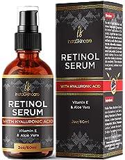InstaSkincare Retinol Serum for Face and Skin Anti-Aging Moisturizer Clinical Strength Formula 2Oz