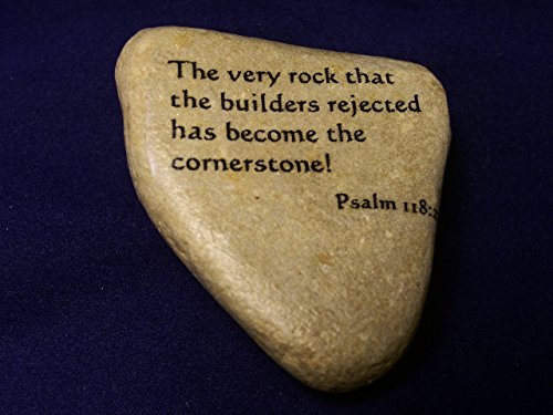 River Rock stone The Rock the builders rejected