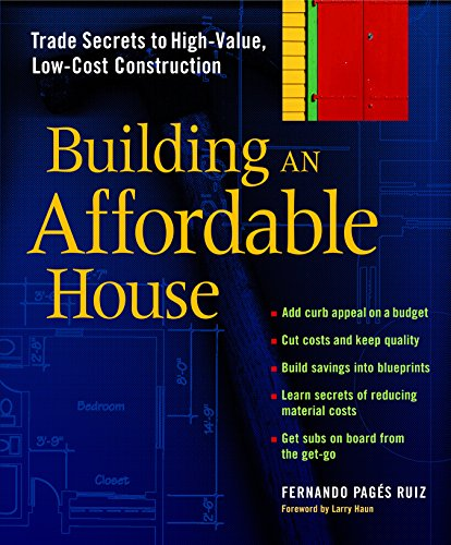 Compare price to building an affordable house for Affordable house construction