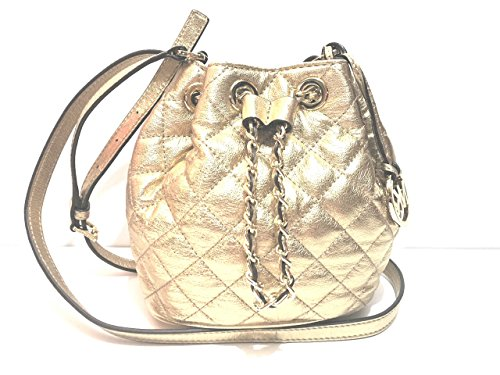 MICHAEL Michael Kors Frankie Quilted Drawstring Crossbody (Michael Kors Frankie)