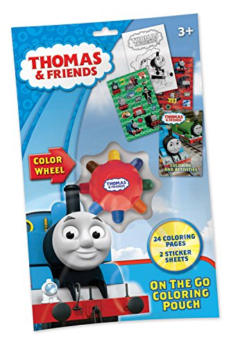 Thomas and Friends On The Go Coloring Activity Pouch with...