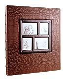 "Veilife 400 pocket holds Scrapbook Photo Album 4""×6"" Postbound Album with Window"