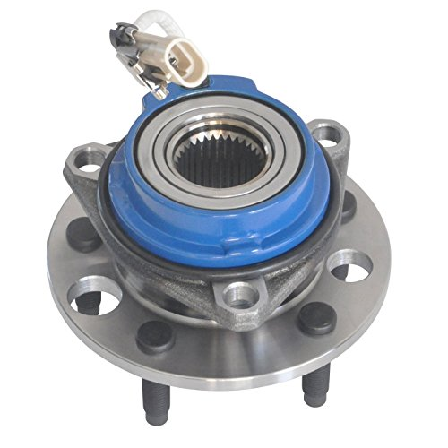 DRIVESTAR 513087 New Front Wheel Hub and Bearing Left or Right for Chevy Pontiac Cadi Olds Buick ()