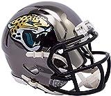 Riddell Jacksonville Jaguars Chrome Alternate Speed Mini Football Helmet - NFL Mini Helmets