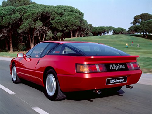 Alpine A610 V6 GT V6 Turbo - Owner Manual by [Rédélé, Jean]