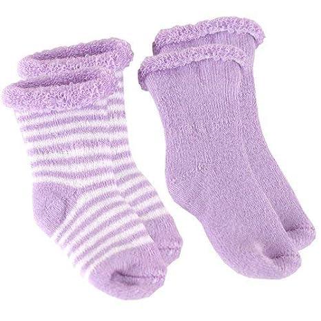 Kushies Newborn Terry Socks