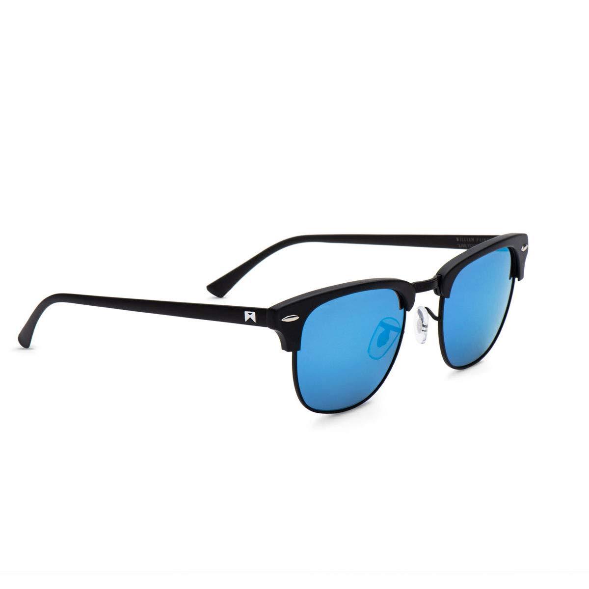 William Painter- The Empire Polarized 'Signature' Sunglasses (Black & Blue)
