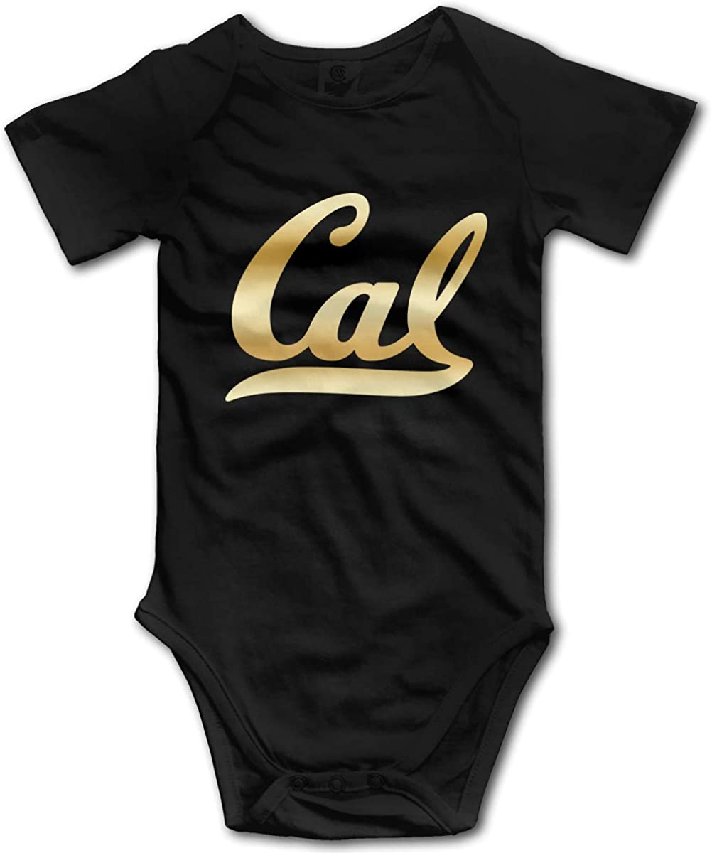 INStophot Soft Cotton Baby Climbing Clothes,Cute University of California Onesies Bodysuit Romper Short Sleeved 0-24 Months