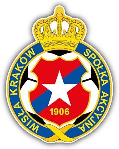 Wisla Krakow FC Poland Soccer Football Art Decal Bumper Vinyl Sticker