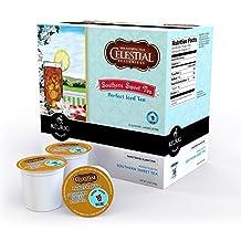 Celestial Perfect Iced Tea Southern Sweet Keurig K-Cups, 16 Count by Celestial Seasonings