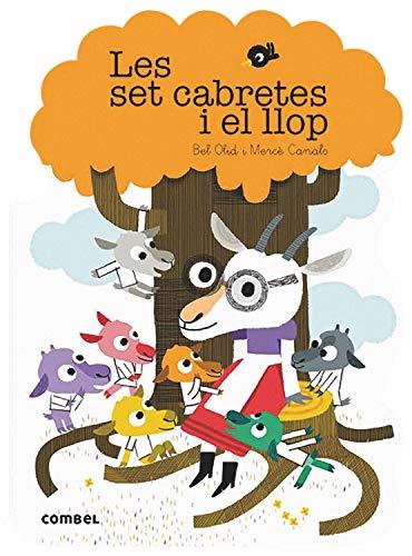 Les set cabretes i el llop: 12 (Què em contes!) por Olid Baez, Bel,Canals Ferrer, Mercè