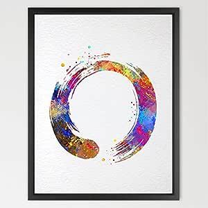 dignovel estudios círculo Zen Enso símbolo budismo