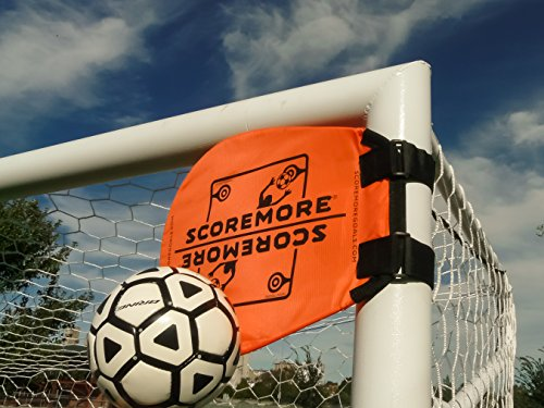 SCOREMORE Soccer Training Targets (Set of 4 + Free Bag)