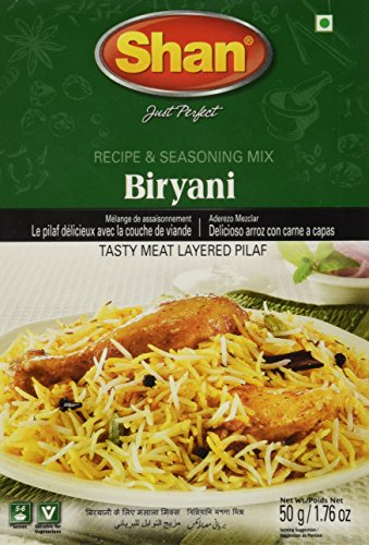 Shan Special Bombay Biryani Mix 50 grams (Pack of 4)