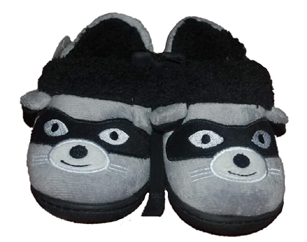 Toddler Boys Aline Fur Bear Critter Slippers House Shoes