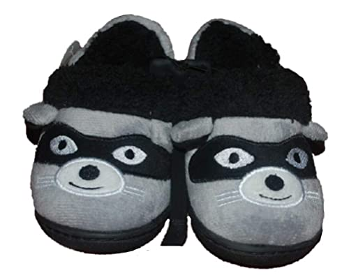 f1a0b48a7fb28 Amazon.com | Baby Infant Raccoon A-Line Slippers House Shoes | Slippers