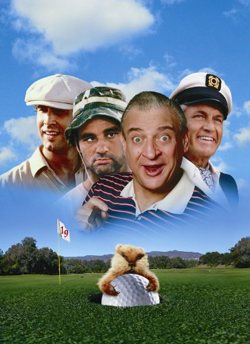 (Caddyshack Movie Poster (27 x 40 Inches - 69cm x 102cm) (1980) Style C -(Chevy Chase)(Rodney Dangerfield)(Ted (Edward) Knight)(Michael O'Keefe)(Bill Murray)(Sarah)