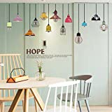 Wall Stickers,GOODCULLER Removable Art Vinyl Quote DIY Chandelier Wall Sticker Decal Mural Room Decor Home Decor