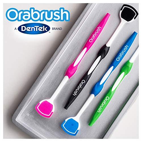Orabrush Tongue Scraper, Multi, 4 Count