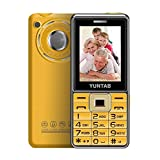 Best Cell Phone For Seniors - YUNTAB Easy to Use 2G Unlocked Cell Phone Review