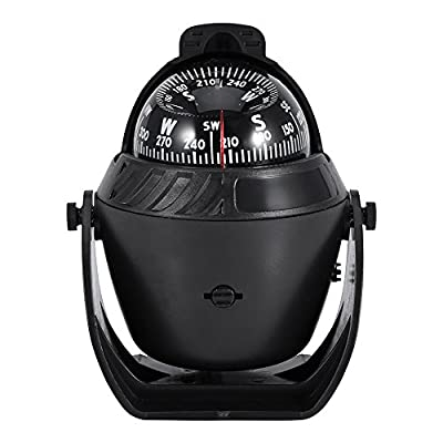 Car Boat Marine Compass Electronic Navigation LED Light Compass Camping Compass