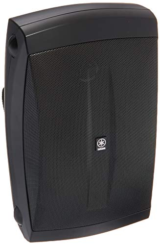 Yamaha NS-AW150BL 2-Way Indoor/Outdoor Speakers (Pair, Black) - Wired (Yamaha 8 3 Way In Ceiling Speakers Pair)