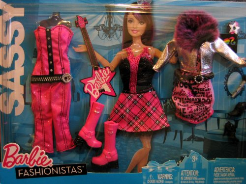 Barbie Fashionistas SASSY Rock Star Fashions (2010)