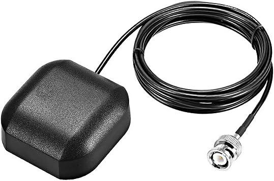 sourcing map GPS Antena Activa BNC Enchufe Macho 34dB Cable ...
