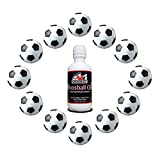 Game Room Guys Soccer Foosballs & 4oz Silicone w/No Spill Applicator