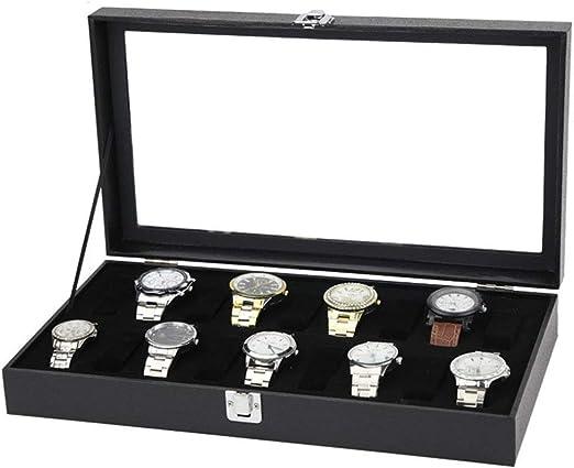 Cajas para Relojes, Bisagra de metal transparente superior ...