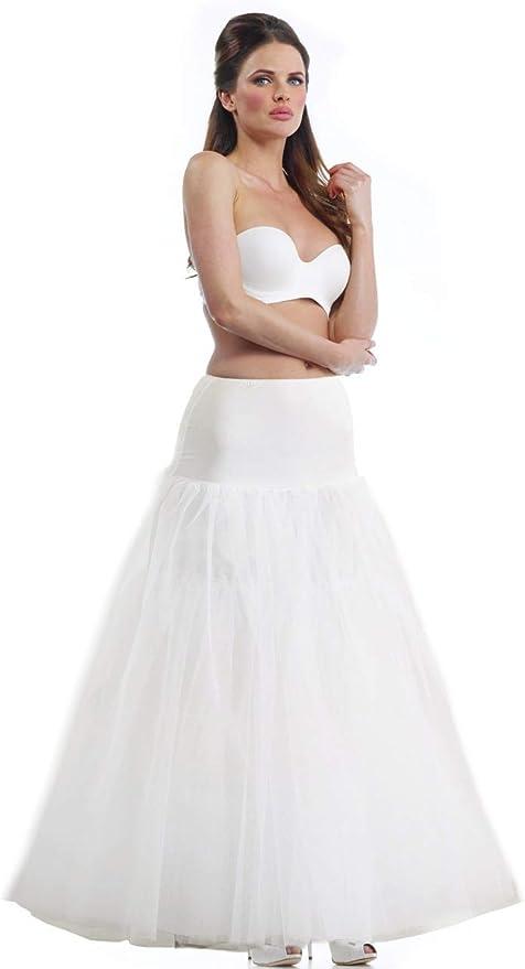 NEU Reifrock Unterrock 3 Lagig 3 Ringe Reifen Klassiker Hochzeit Braut Petticoat