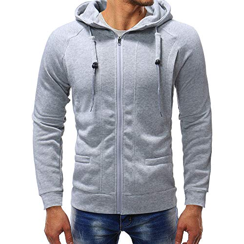 Men's Hoodies, FORUU Long Sleeve Autumn Winter Casual Sweatshirt Top Blouse Tracksuits ()