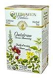 Celebration Herbals Organic Oatstraw Green Flowering Tea Caffeine Free -- 24 Tea Bags