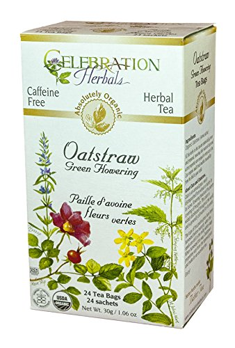 Celebration Herbals Oatstraw Flowering Caffeine
