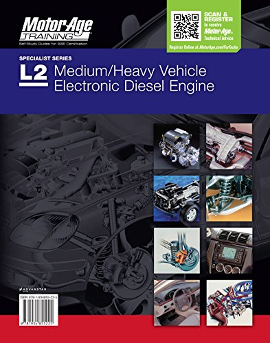 - ASE Test Prep L2 - Medium/heavy Vehicle Electronic Diesel Engine Diagnostic Specialist Study Book - 2016 (Motor Age Training)