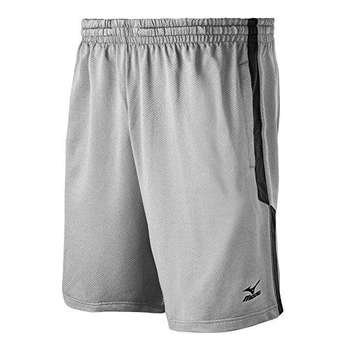 Mizuno Pro Training Shorts, Grey/Black, X-Large ()