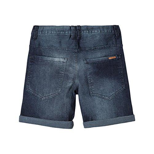 OFFCORSS Slim Fit Chino Shorts for Big Boys Beach Bermudas para Niños Blue 10 by OFFCORSS (Image #1)