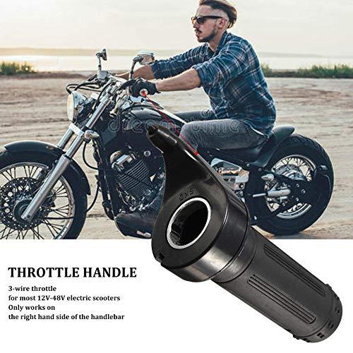 gfjfghfjfh Throttle Grip 24V 36V 48V For Electric Scooter Pocket Bike Chopper