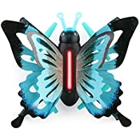 Owill JJRC H42 2.4G RC Wifi Quadcopter Imitate Butterfly Shape Altitude Hold 3D Roll One Key Return LED Drone (Blue)