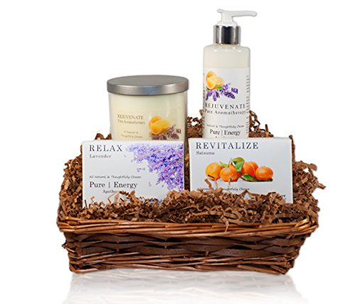 Pure|Energy Apothecary : Nourishing Balance Gift Set #6 Pure Aromatherapy with Basket