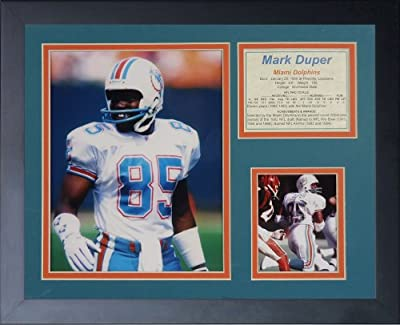 "Mark Duper 11"" x 14"" Framed Photo Collage by Legends Never Die, Inc."